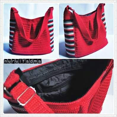 Crochet bag by nurulfadma