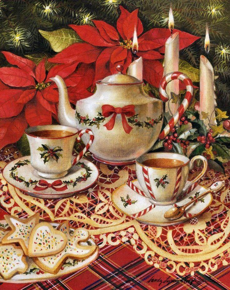 выдох поднимите картинки новогоднее чаепитие выбор