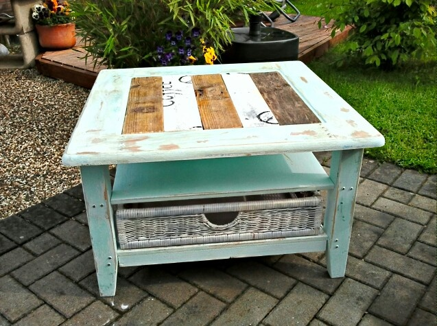 Couchtisch Table Shabby chic  mamaison  Pinterest