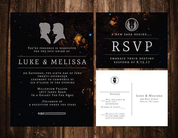 Star Wedding Invitations: 211 Best Star Wars Wedding Ideas Images On Pinterest