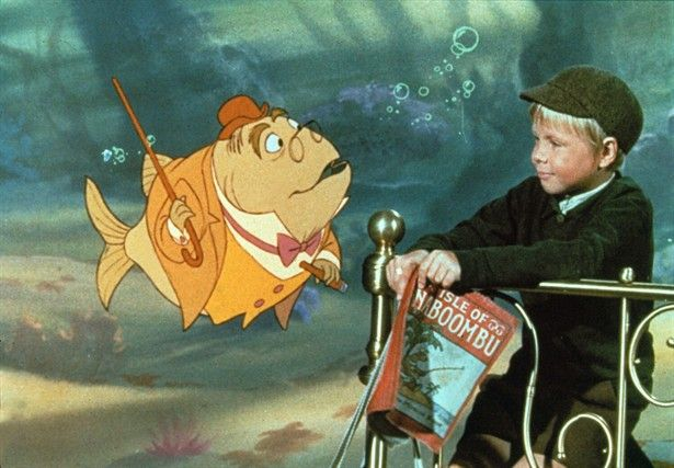 """Bedknobs & Broomsticks - One of the first animated """"Disneyesque"""" films I picked up on Blu Ray because I hadn't seen it. Enjoyed it muchly!"""
