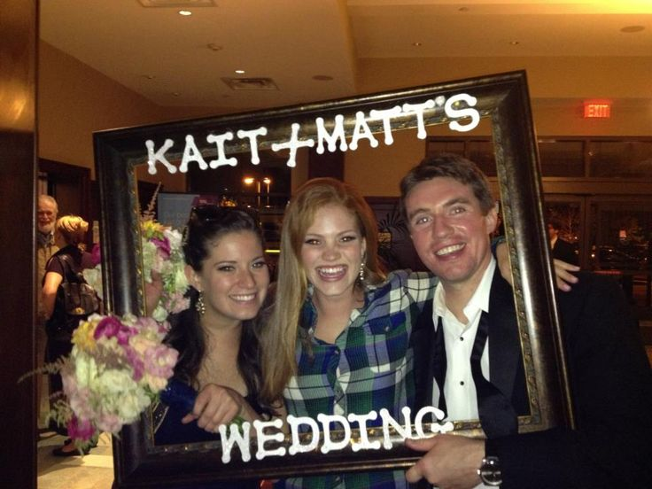 Funny Wedding Ideas For Reception: Wedding Reception Frame Idea.. How To Make Your Own