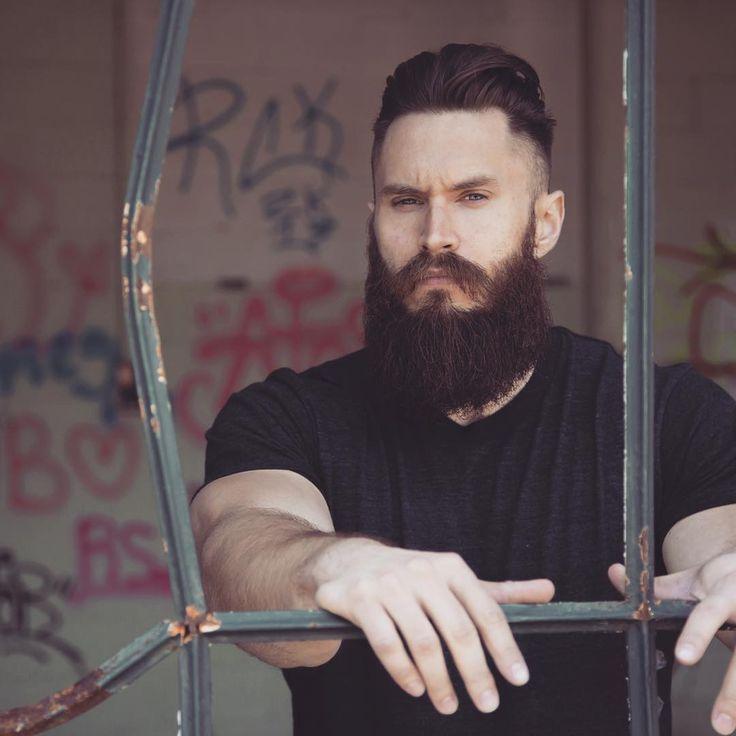 Brendan Gregory Full Thick Dark Beard Mustache Beards
