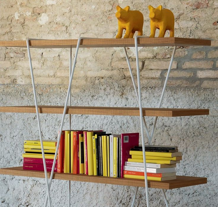 matassa Bookcase - Miniforms #bookshelves