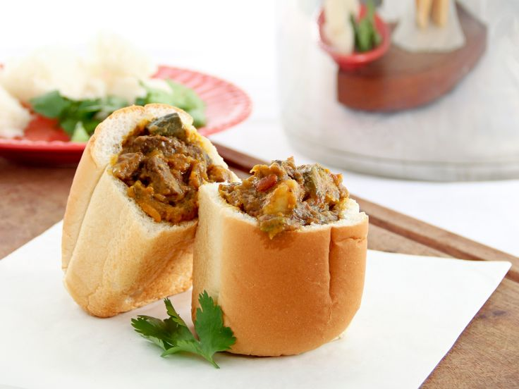 There is nothing better than a good bunny chow! Use the AMC Speedcooker to save time .