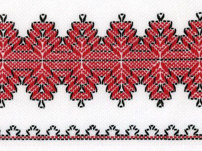 huckembroidery images | Swedish weaving/huck embroidery | enbrouderie