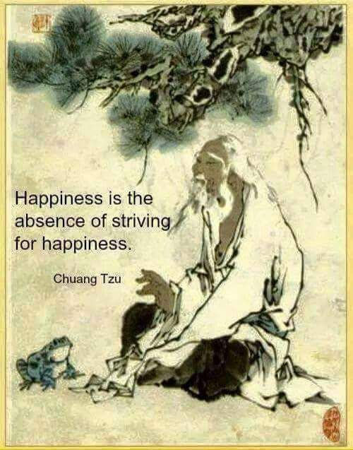 ...the absence of striving ~ Lao Tzu