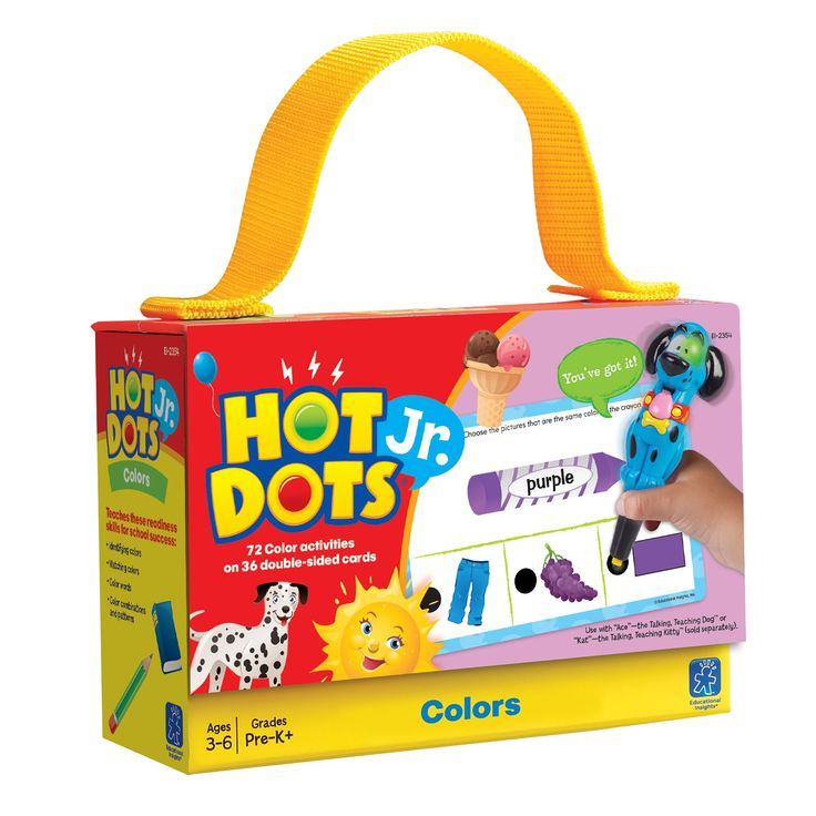 Educational Insights Hot Dots Jr. Card Set - Color