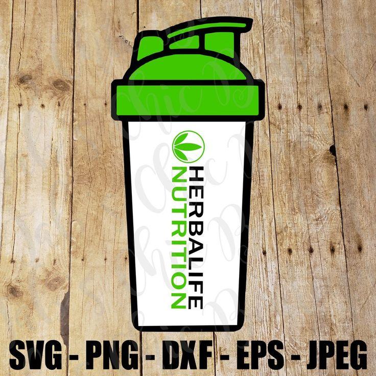Herbalife Nutrition Blender Bottle SVG JPEG PNG DXF EPS