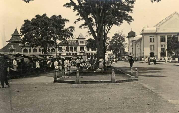 Alun-alun Bandung, 1920