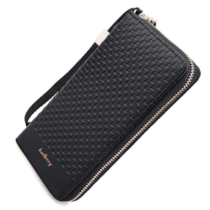 $7.66 (Buy here: https://alitems.com/g/1e8d114494ebda23ff8b16525dc3e8/?i=5&ulp=https%3A%2F%2Fwww.aliexpress.com%2Fitem%2FFamous-Brand-Zipper-PU-Leather-Wallet-For-Men-Plaid-Long-Clutch-Wallets-Card-Holder-Purse-Men%2F32701648031.html ) Famous Brand Zipper PU Leather Wallet For Men Plaid Long Clutch Wallets Card Holder Purse Men's Wallet Bags Male Handbag for just $7.66