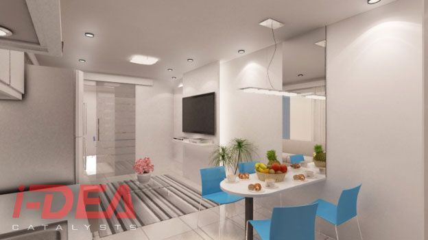 smdc condo living  dining area   condo
