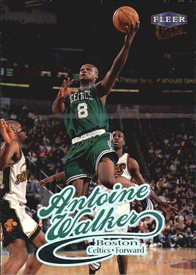 1998-99 Ultra Boston Celtics Basketball Card #76 Antoine Walker