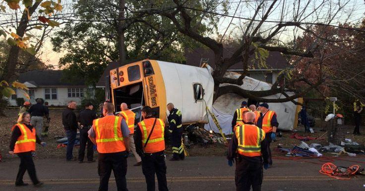 Ônibus escolar se acidenta nos EUA e bombeiros citam 'múltiplas' mortes