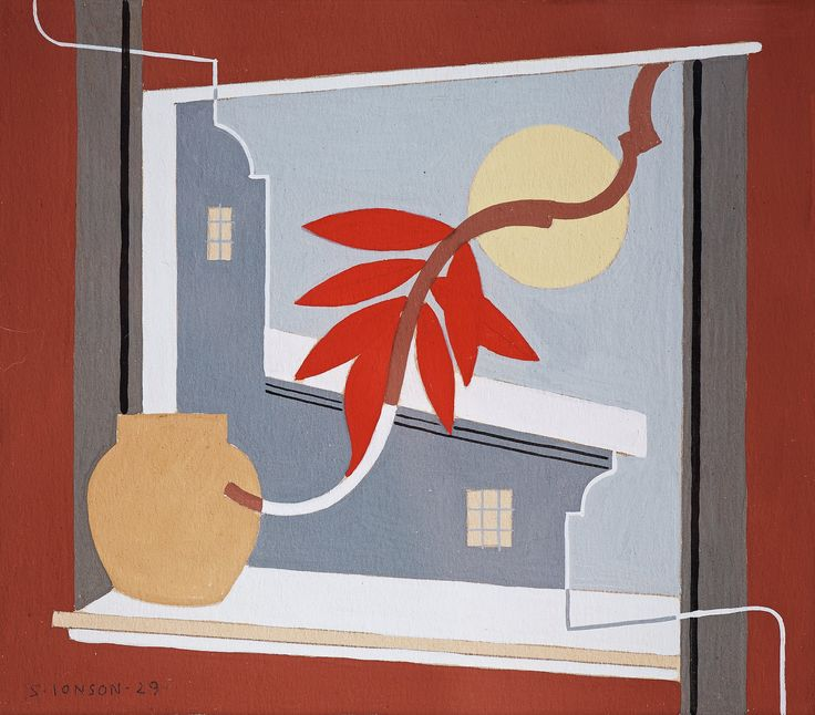 https://flic.kr/p/JnvMyv | Sven Jonson - Composition with Red Leaf [1929] | Sven Jonson (Halmstad, September 28, 1902 - March 17, 1981) was a Swedish surrealist artist. Jonson's surrealism is characterised by barren landscape in bright yellow or brown tones. Often there are also small human figures to demonstrate the human smallness. Architectural elements, arches, columns and so on with long shadows are typical. Jonson was also influenced by the upcoming World War II, which is evident in…