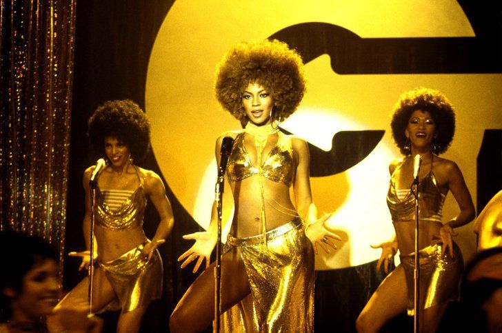 """Pin for Later: The Ultimate Bikini Movie Gallery Beyoncé, Austin Powers in Goldmember Thanks to her shiny gold bikini top, Foxxy Cleopatra definitely has the """"foxy"""" part down."""