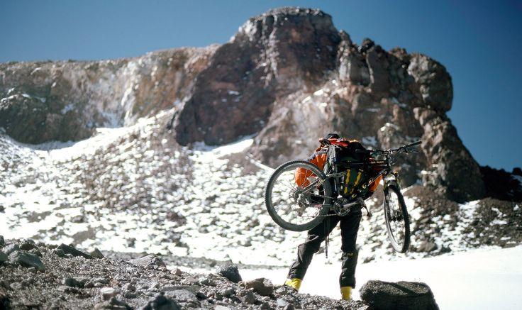 No Bike's Land: Mountain Biking Volcanos