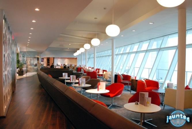 Gatwick's Virgin Atlantic Clubhouse
