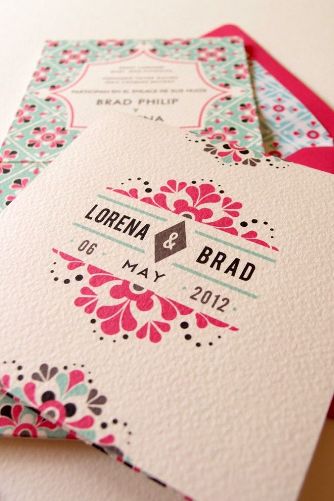 mexican wedding invitations « Lizzy B Loves