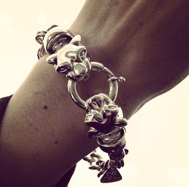 Panther bracelet from Von Treskow love www.silverwolfjewellery.com.au