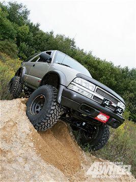 Chevy S10 Blazer IFS to Solid axle swap