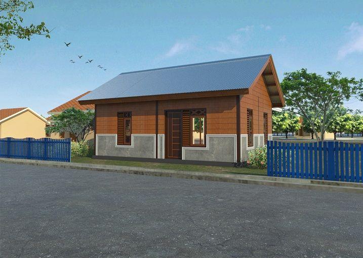 Rumah Semi Permanen - PLP-BK - Palu
