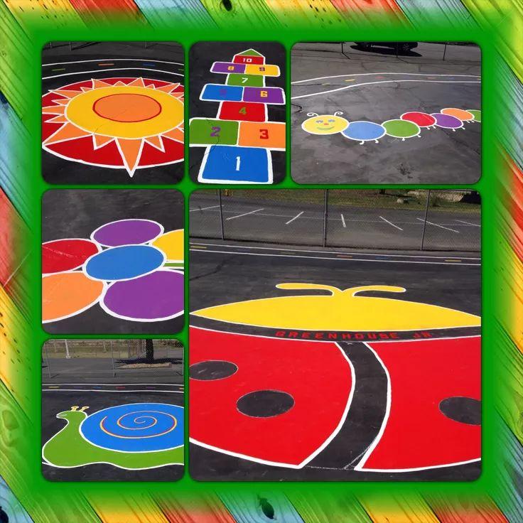 17 best floor games images on Pinterest | Mockup, Playground ...