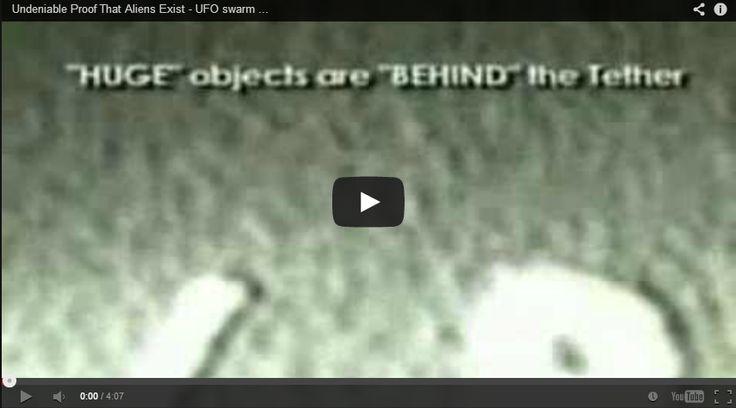 Alien UFO Videos: Undeniable Proof That Aliens Exist - UFO swarm surrounds Space Shuttle