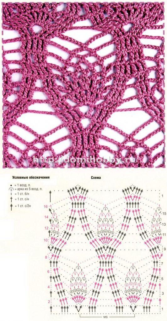 crochet lace stitch
