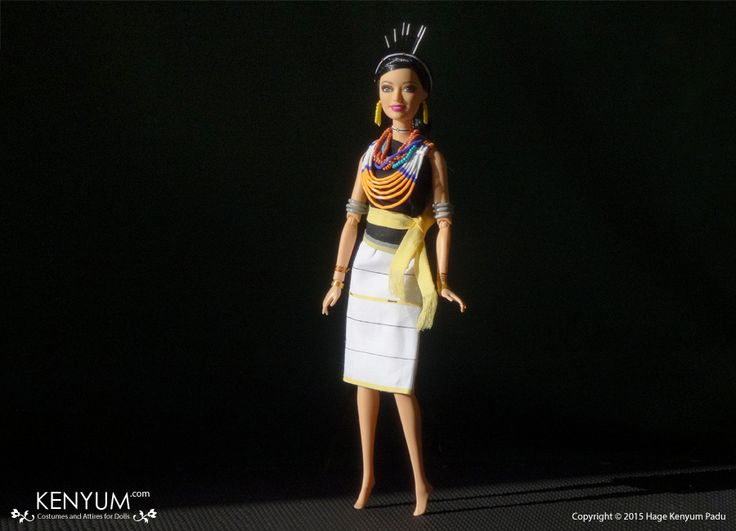 Barbie Doll in Chakesang Attire