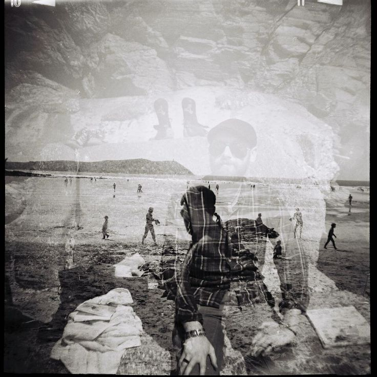 Double exposure Diana Lomography