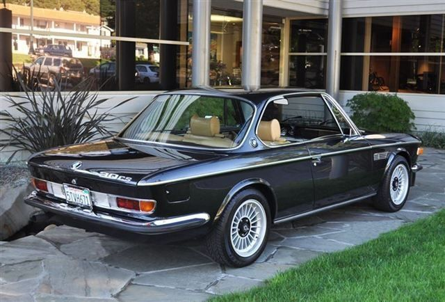 '74 BMW 3.0 CS They just don't make bimmers like they used to.