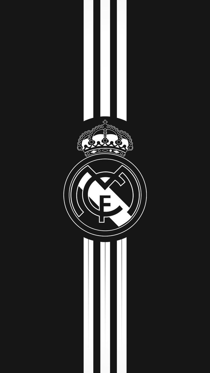 Real Madrid Wallpaper Black And White Real Madrid Wallpapers Madrid Wallpaper Real Madrid Logo