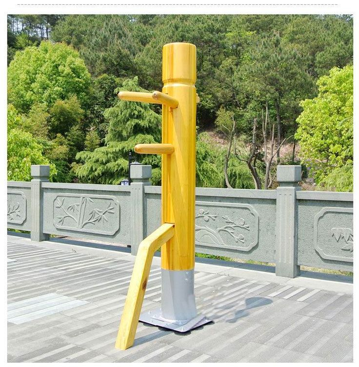 Factory price! Patent  Wing Chun Wooden Dummy,one punch man kung fu training mook jong,Ip Man Chinese martial arts
