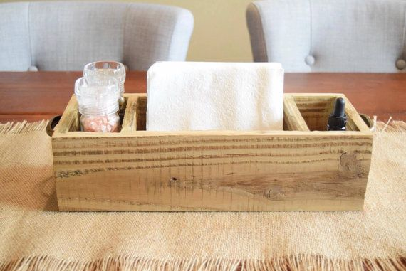 Table Caddy / Table Caddie/ Table Organizer/ Napkin Holder/