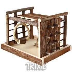 love this hamster climbing frame!