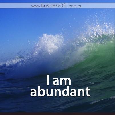I am Abundant!