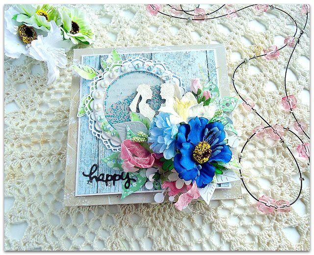 скрапбукинг, коробочка для денег, свадебная коробочка, свадьба, шейкер, весна, любовь