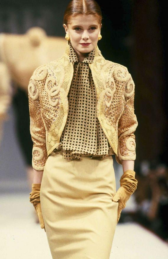 Gianfranco Ferré S/S 1989 Couture (hello, Balmain 2012)