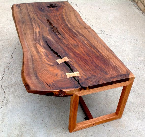 Slab Coffee Table: 17 Best Images About Slab Wood Coffee Tables On Pinterest