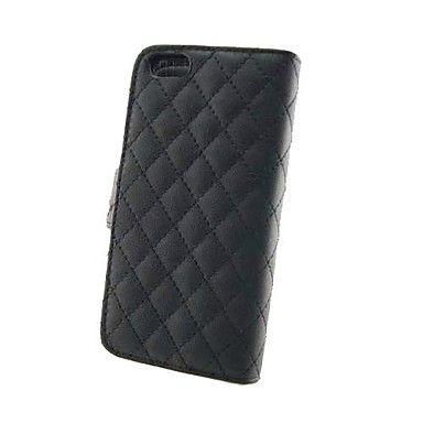 EUR € 16.07 - Nye Ankomst fotoramme Full Body læder tegnebogen Case Cover med Credit holder til iPhone 5c, Gratis Fragt På Alle Gadgets!