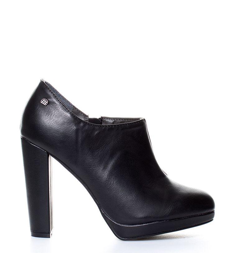 Aliexpress.com: Comprar Mustang Zapatos abotinados Agathe negro Altura tacón + plataforma: 11,5cm de heel heels fiable proveedores en Esdemarca Calzado de Mujer Store