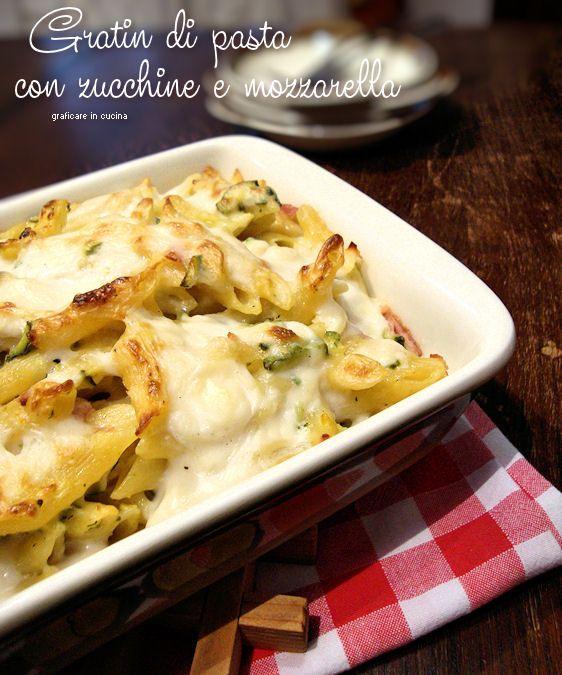 Ricette di pasta con zucchine e mozzarella