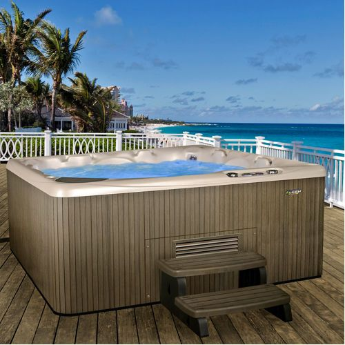 front beachcomber model hot series tubs tub