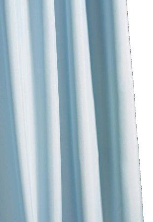 croydex rideau de douche en tissu uni bleu ciel. Black Bedroom Furniture Sets. Home Design Ideas