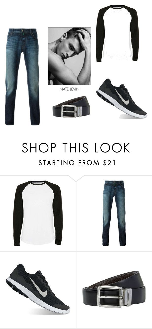 """Nike (just do it!!!)"" by princessbrooke67 ❤ liked on Polyvore featuring Topman, Jacob Cohёn, NIKE, BOSS Hugo Boss, men's fashion and menswear"