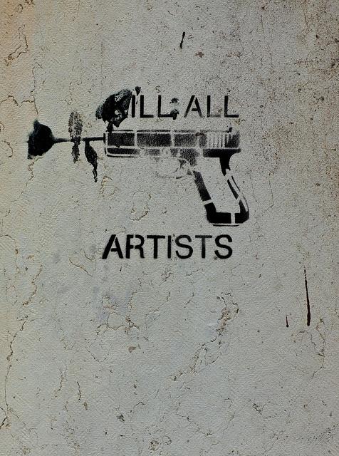 Kill all artists...