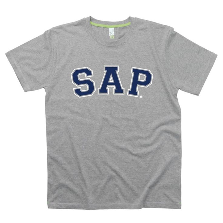 SAP Gent's t-shirts from HairyBaby.com