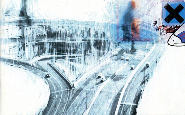 radiohead album covers wallpaper