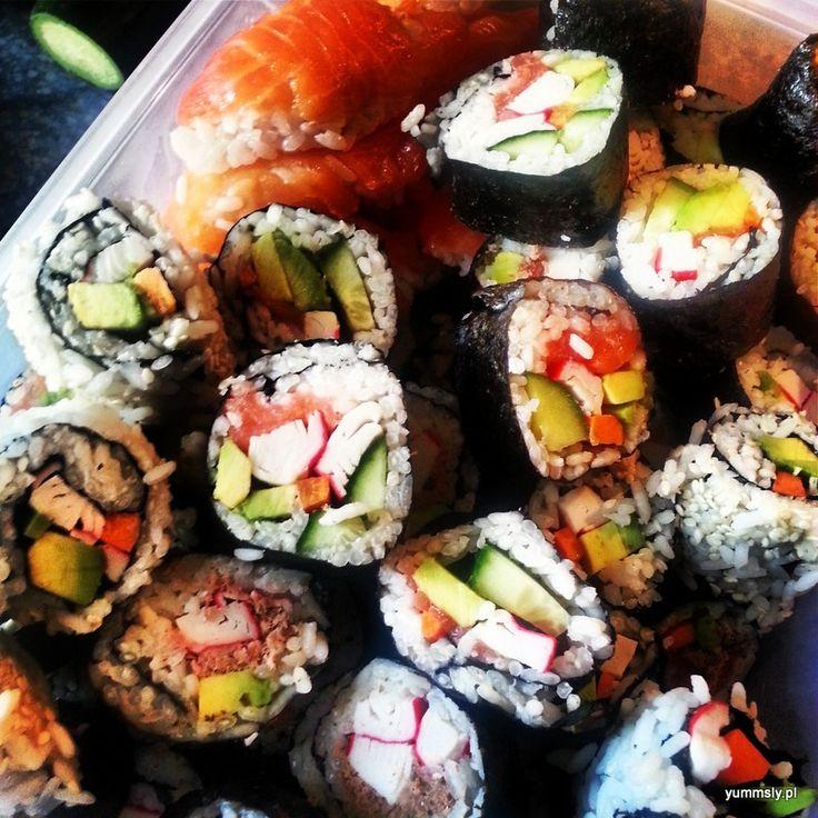 Domowe #Sushi dla początkujących – Sushi Me #foodporn #diy